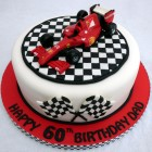 f1 ferrari birthday cake topper