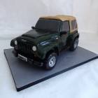 jeep wrangler birthday cake