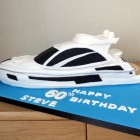 sunseeker predator yacht birthday cake poole