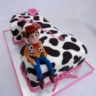 woody toy story 1st birthday cake