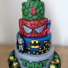 4-tier-super-heroes-birthday-cake