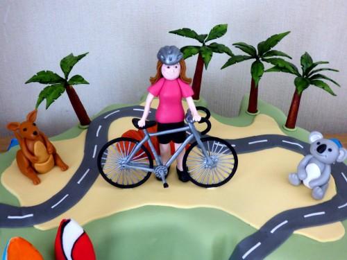 australia-cycle-road-trip-birthday-cake