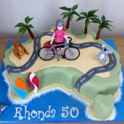 australia-cycle-road-trip-birthday-cake