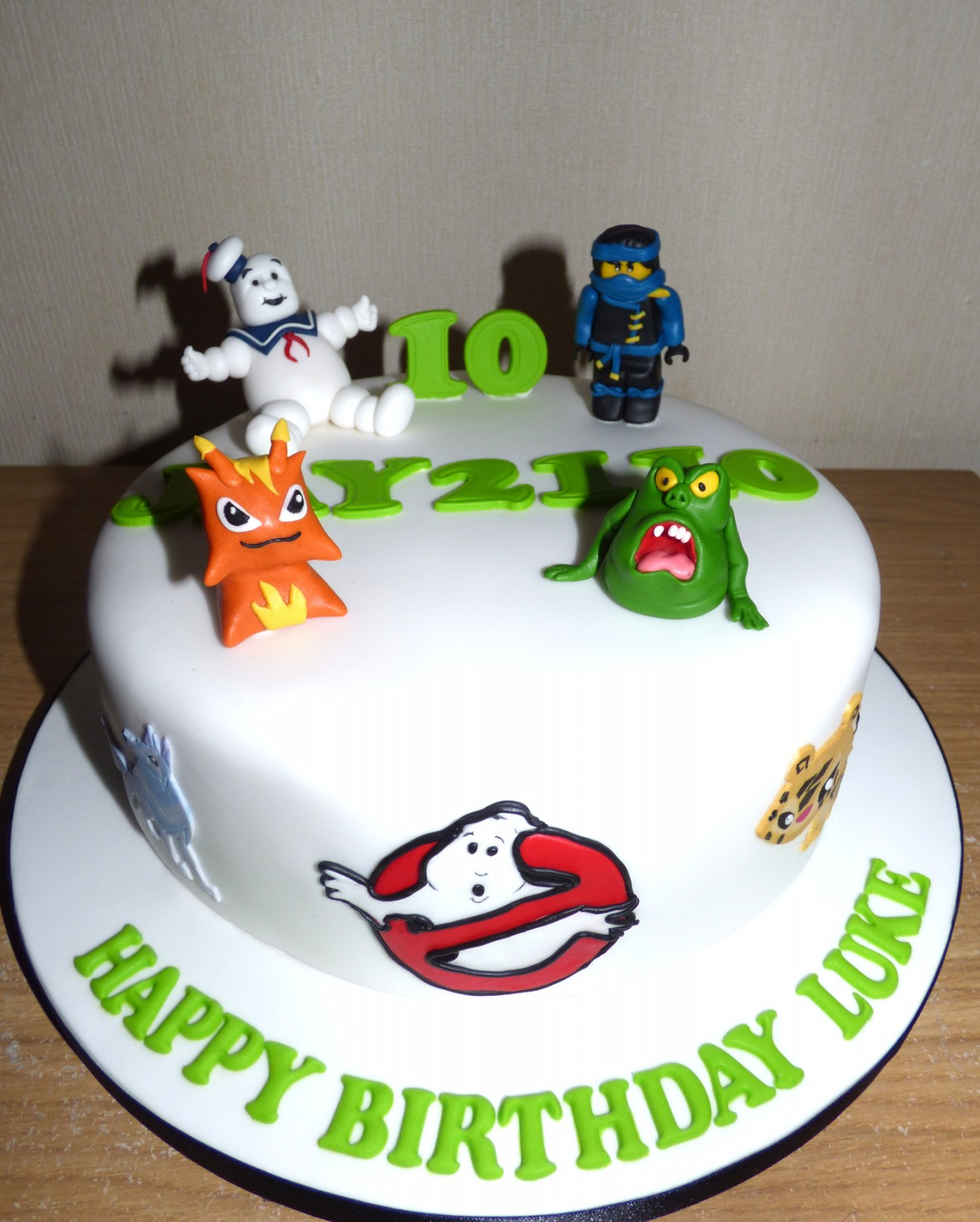 Childs Favourite Characters Birthday Cake