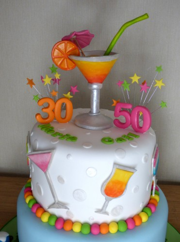 cocktail-and-festival-themed-2-tier-celebration-cake