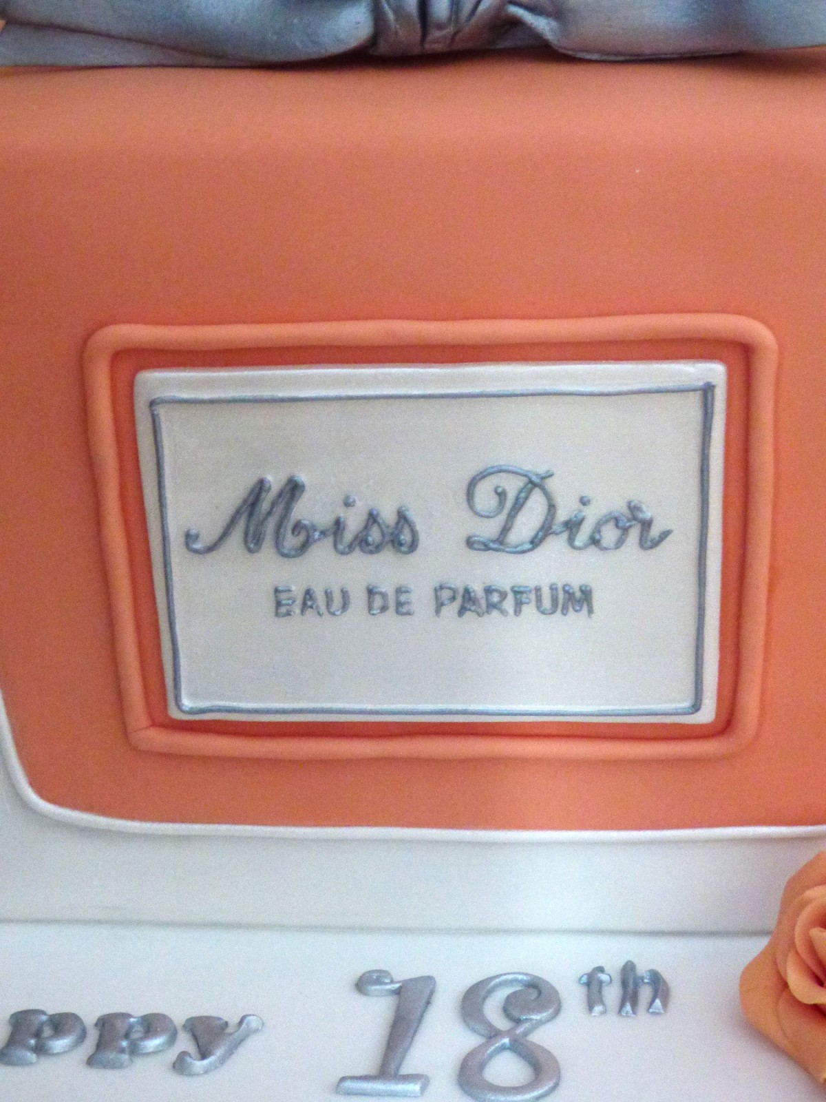Miss Dior Perfume Bottle Birthday Cake Susies Cakes