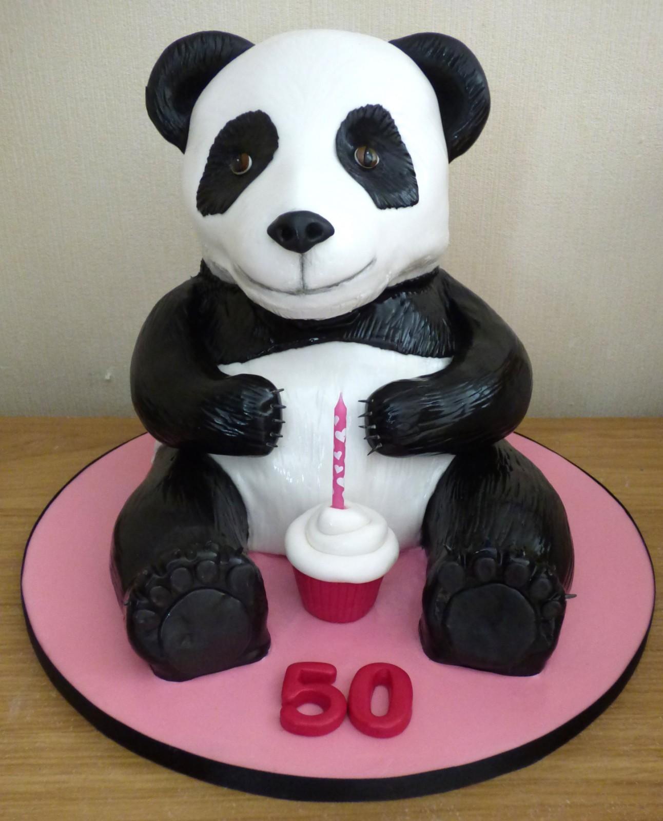 panda bear birthday cakes