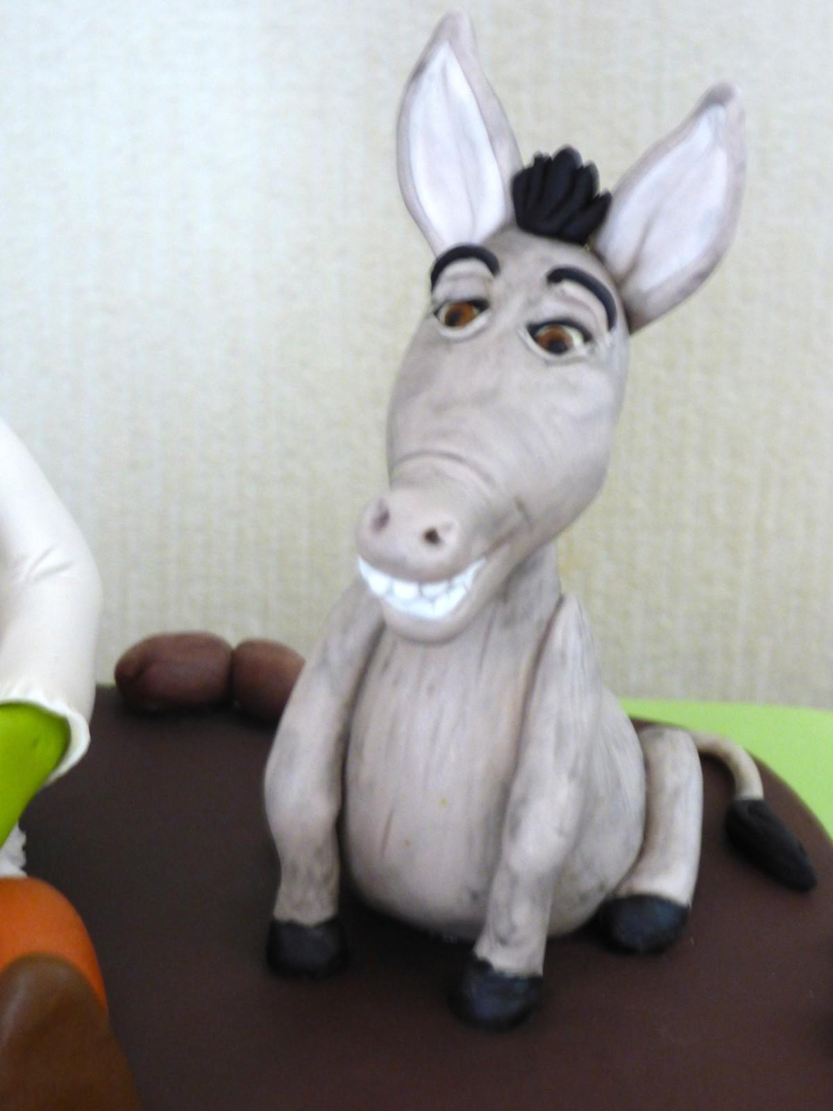 Shrek And Donkey Birthday Cake 171 Susie S Cakes