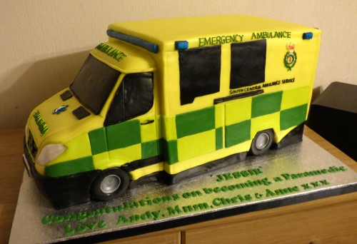 south-central-ambulance-service-birthday-cake