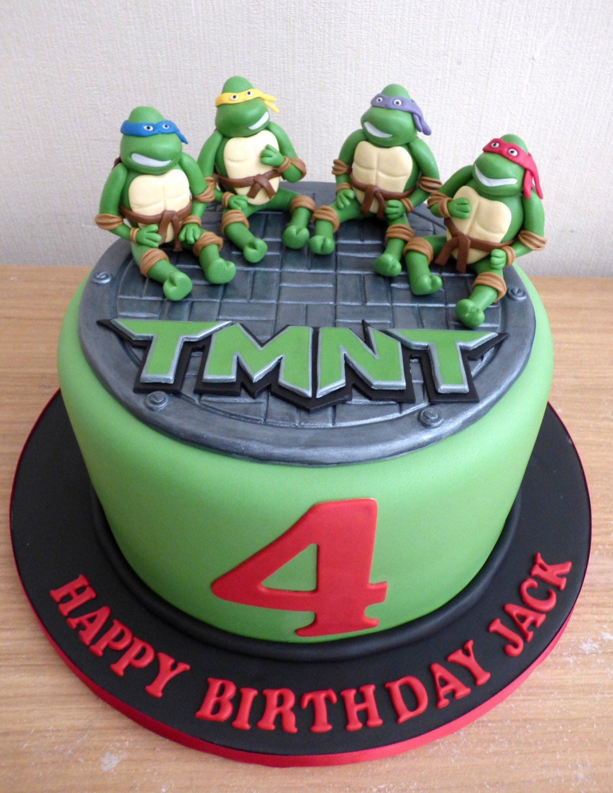 Teenage Mutant Ninja Turtles Birthday Cake Susies Cakes