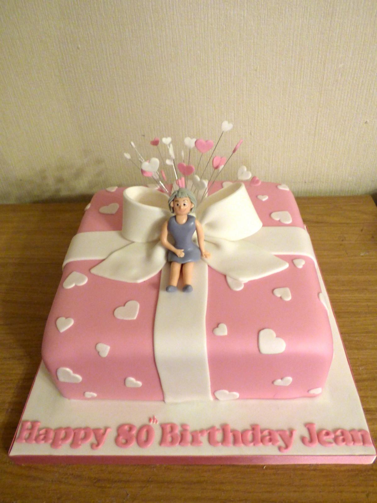 Super 80Th Birthday Present Cake Susies Cakes Funny Birthday Cards Online Drosicarndamsfinfo