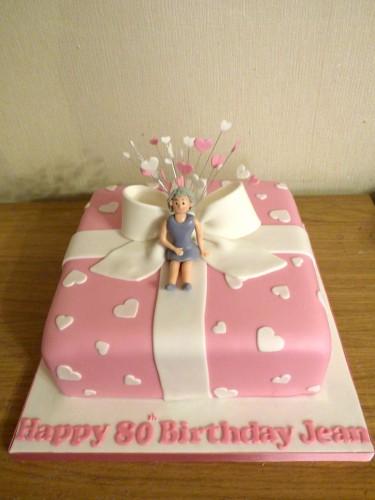 80th-birthday-present-cake
