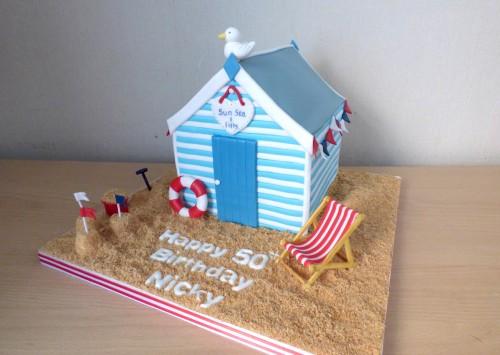 beach-hut-birthday-cake