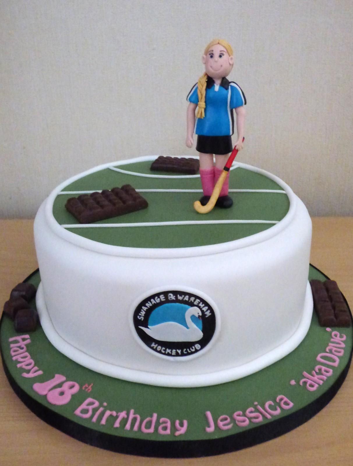 Amazing Wareham And Swanage Hockey Club Birthday Cake Susies Cakes Personalised Birthday Cards Petedlily Jamesorg