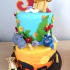 2-tier-lion-guard-themed-birthday-cake