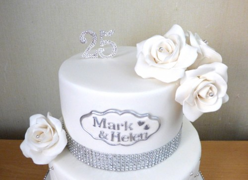 2-tier-silver-wedding-anniversary-cake