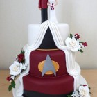 3-tier-star-trek-themed-half-and-half-wedding-cake