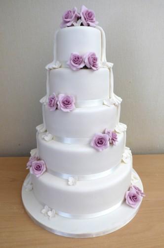 5-tier-half-and-half-batman-themed-wedding-cake