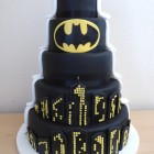 5-tier-half-and-half-batman-themed-wedding-cake