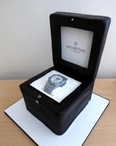audemars-piquet-royal-oak-watch-in-presentation-box-birthday-cake