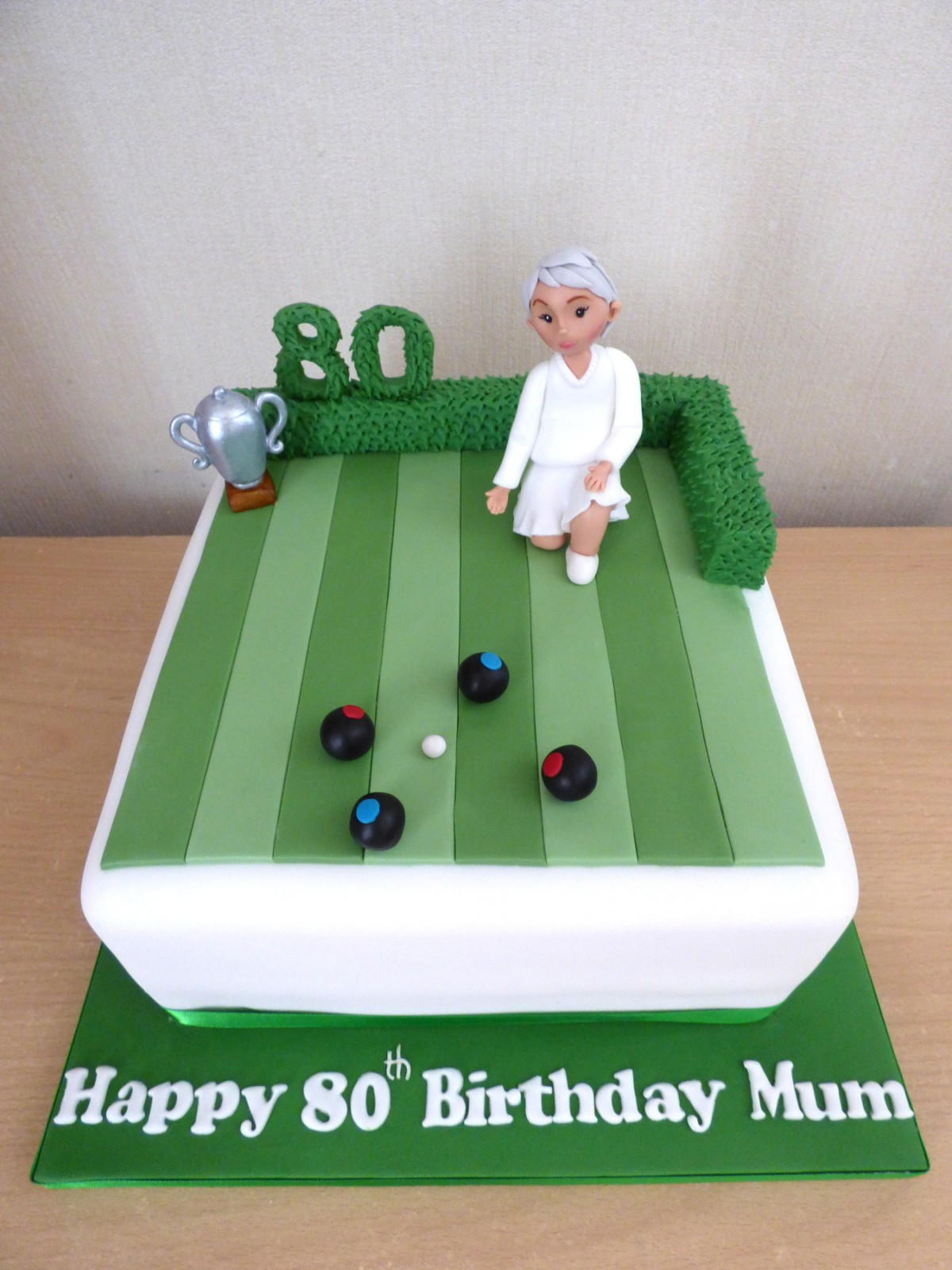 Crown Green Bowls Themed Birthday Cake 171 Susie S Cakes