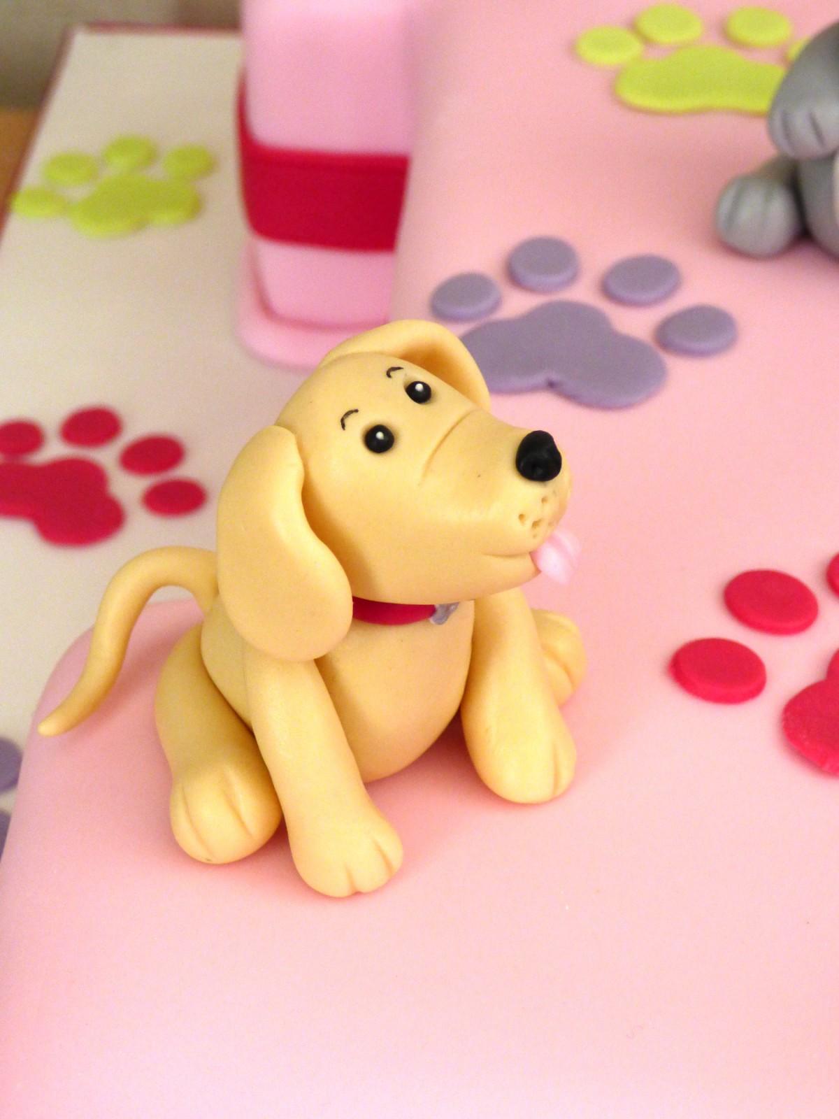 Super Dog Themed 1St Birthday Cake Susies Cakes Funny Birthday Cards Online Bapapcheapnameinfo