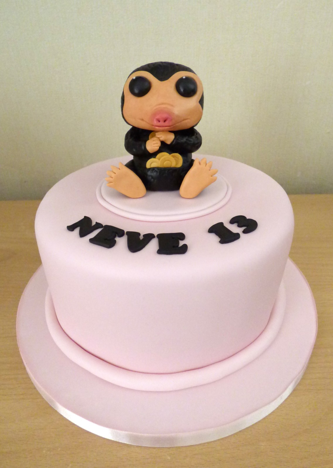 Outstanding Fantastic Beasts Niffler Birthday Cake Susies Cakes Personalised Birthday Cards Akebfashionlily Jamesorg