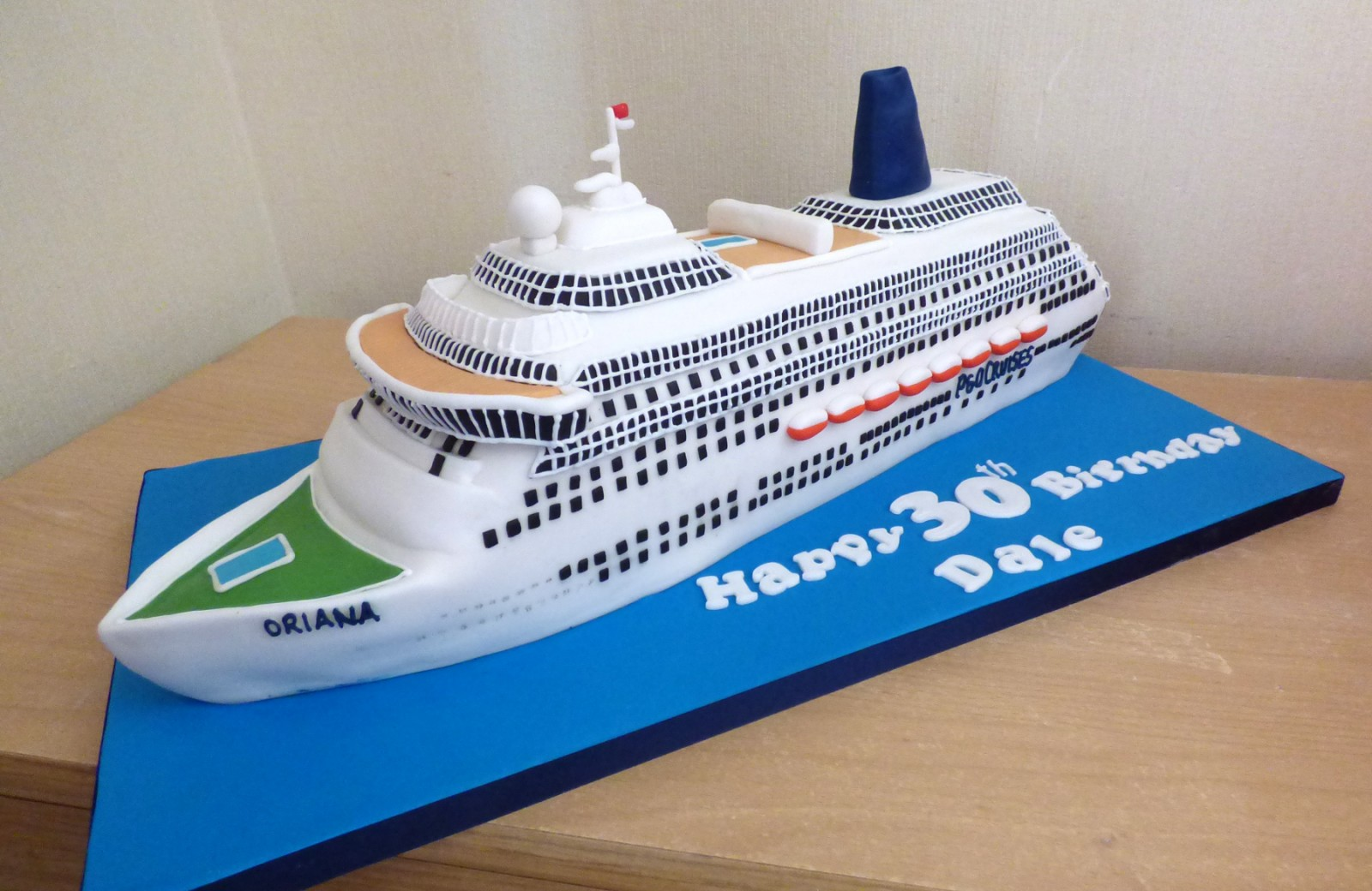 Image Result For P And O Cruise Birthday Cake