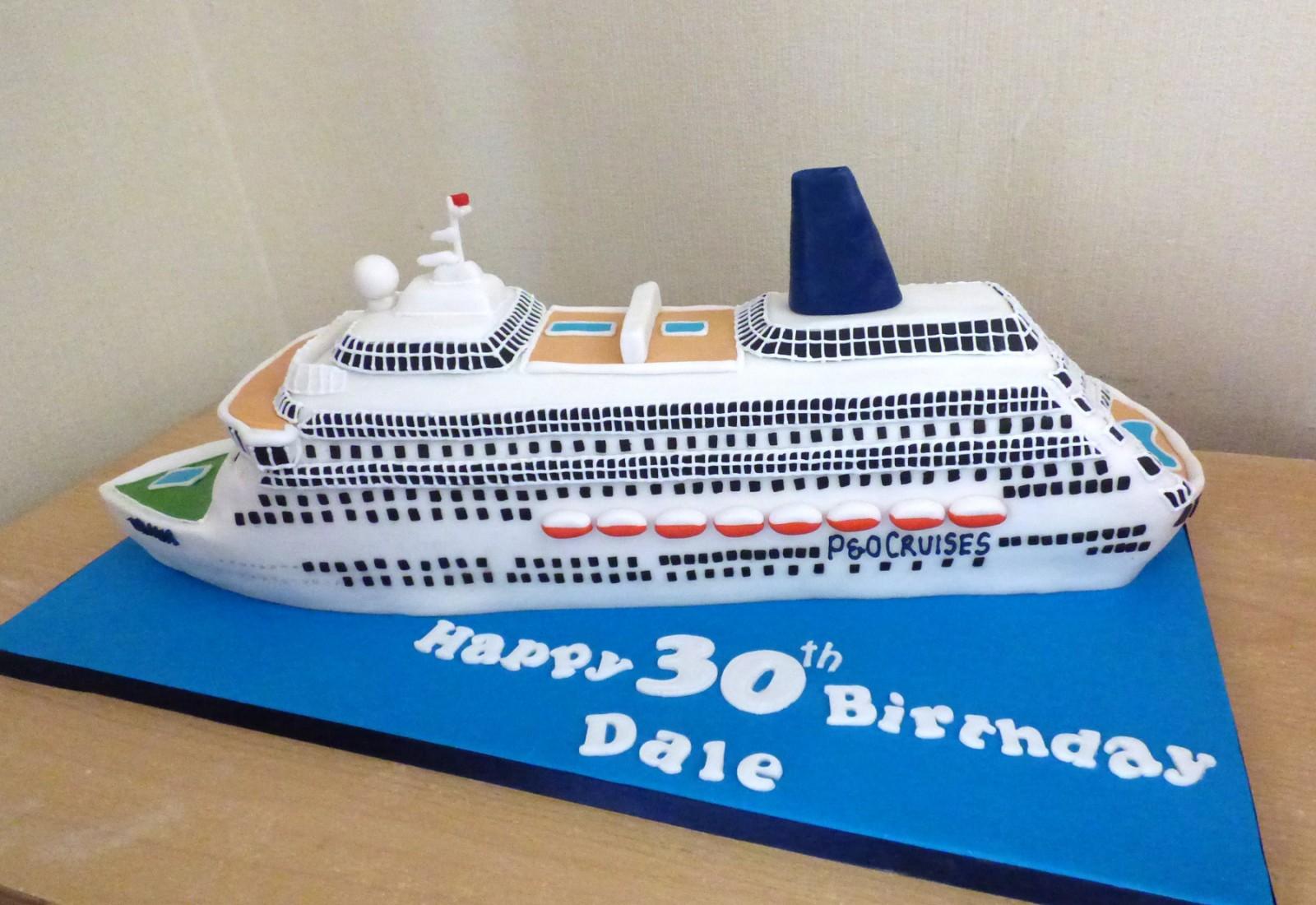 Superb P O Oriana Cruise Ship Birthday Cake Susies Cakes Funny Birthday Cards Online Inifofree Goldxyz
