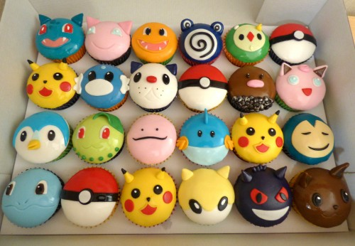 pokemon-themed-cupcakes