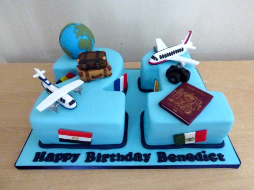 2-and-1-travel-themed-birthday-cake