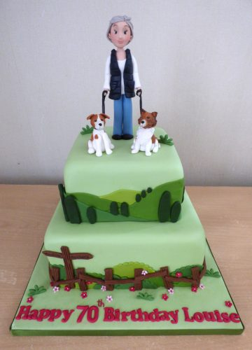 2-tier-dog-walkers-birthday-cake
