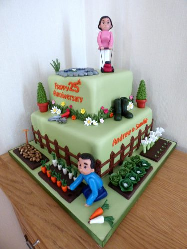 2-tier-gardening-allotment-anniversary-birthday-cake