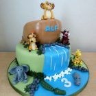2-tier-lion-king-inspired-birthday-cake