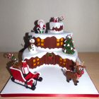 2-tier-log-cabin-themed-christmas-cake-santa-rudolph-sleigh-
