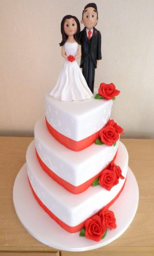 3-tier-heart-white-and-red-wedding-cake-