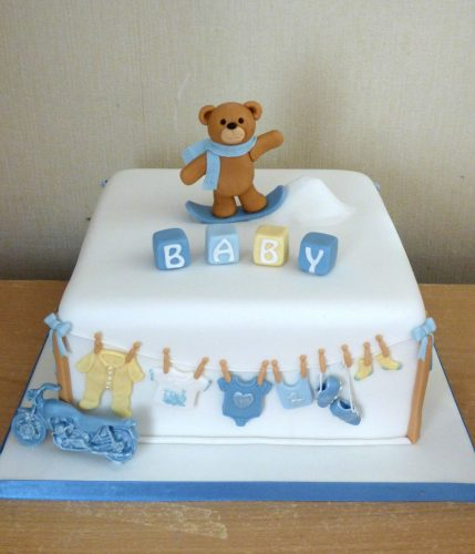 baby-shower-cake-for-a-boy-snowboarding-bear-