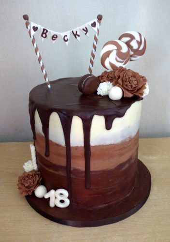 chocolate-heaven-drip-18th-birthday-cake