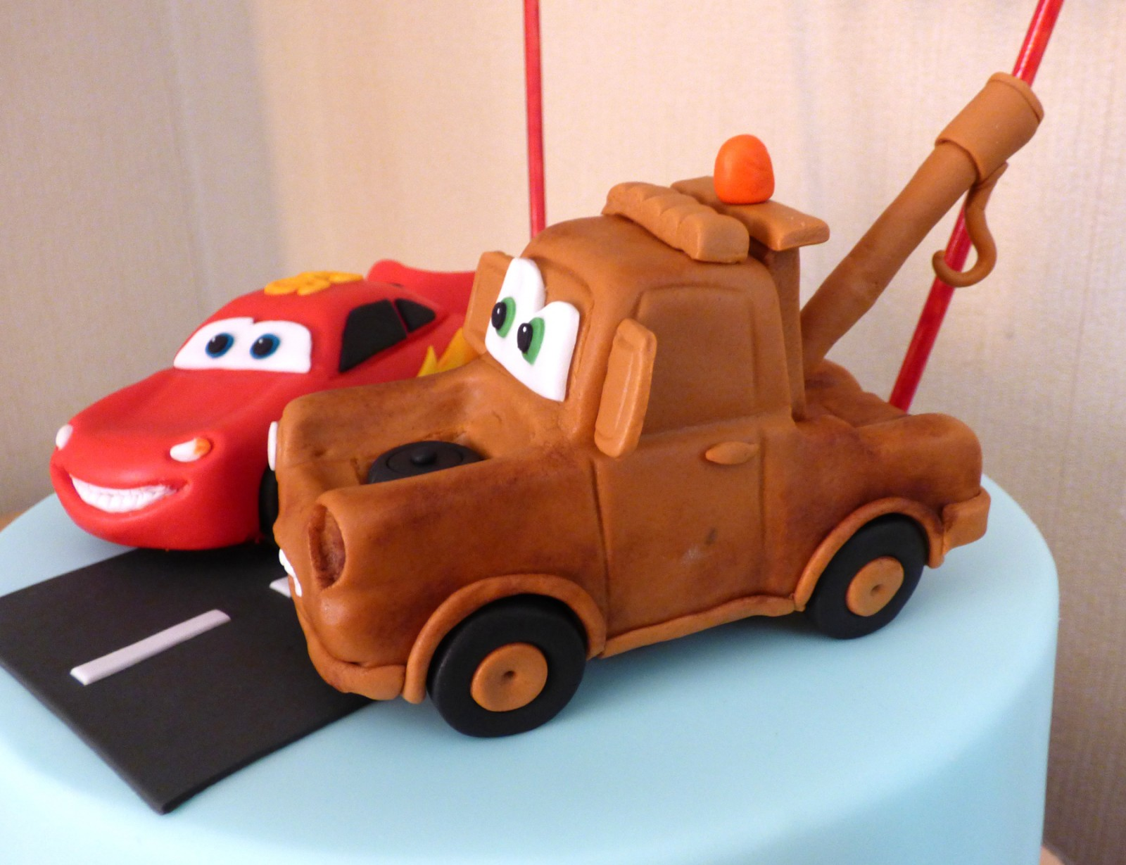 Disney Pixar Cars Themed Birthday Cake This Is Found In Boys