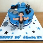 gym-body-builder-birthday-cake