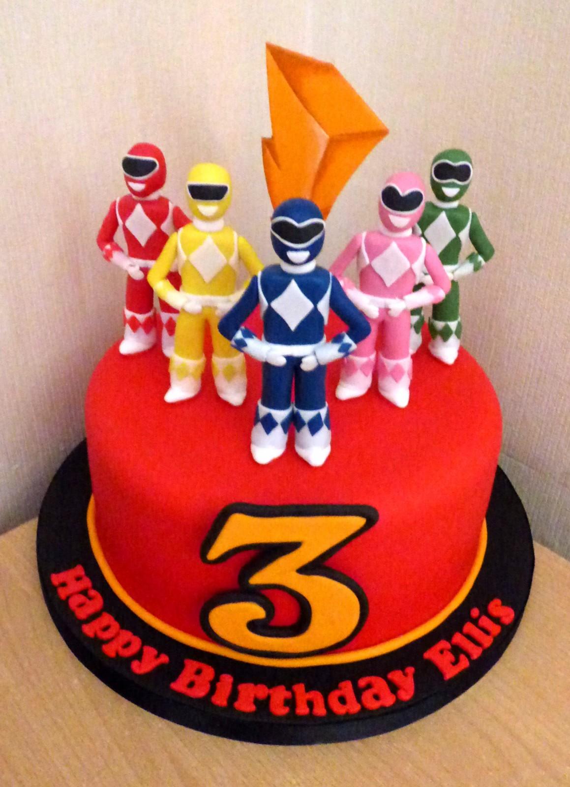 Power Rangers Birthday Cake 171 Susie S Cakes