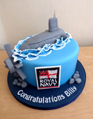 royal-navy-submarine-cake