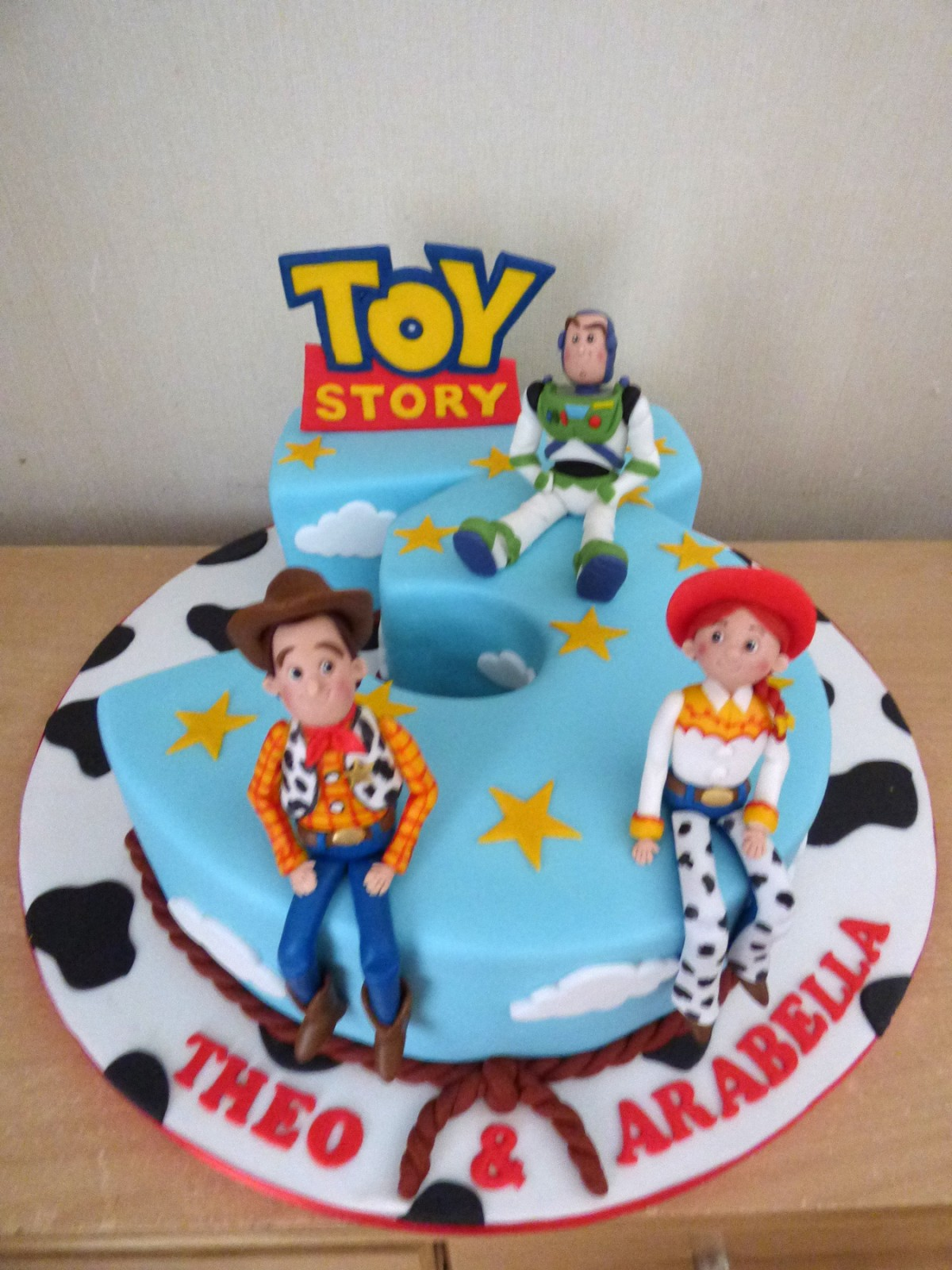 Toy Story Number 3 Birthday Cake Susies Cakes