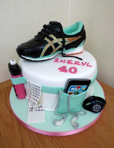 marathon-runners-birthday-cake