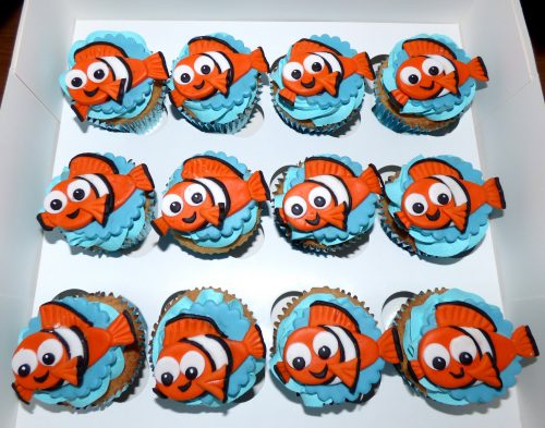 nemo-inspired-cupcakes