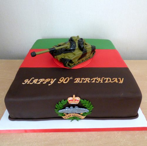 royal-tank-regiment-birthday-cake