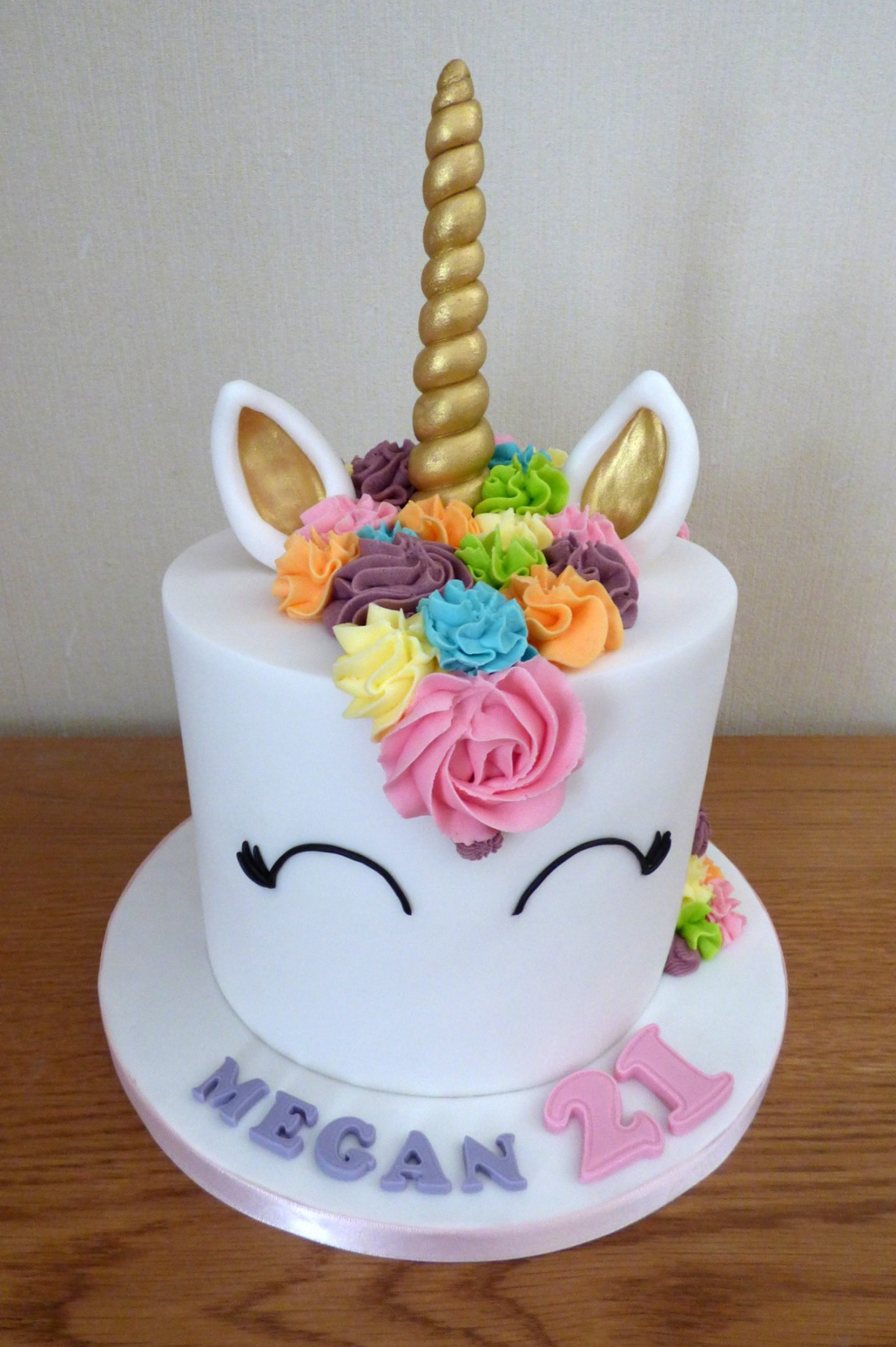 Outstanding Unicorn 21St Birthday Cake Susies Cakes Funny Birthday Cards Online Alyptdamsfinfo