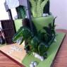 2-tier-jurassic-world-themed-birthday-cake thumbnail