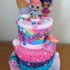 2-tier-lol-surprise-birthday-cake