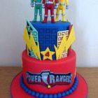 2-tier-power-rangers-birthday-cake